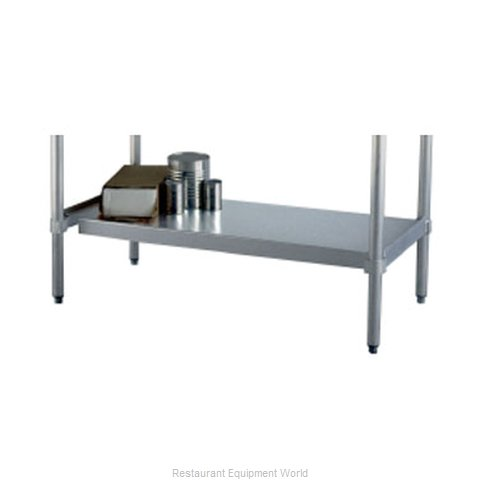 New Age 24US36KD Undershelf for Work Prep Table