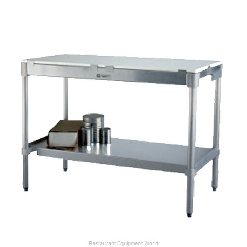 New Age 30P84KD Work Table, Poly Top