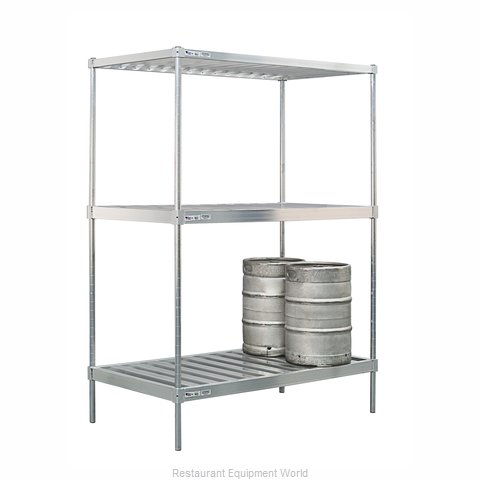 New Age 51174 Keg Storage Rack (Magnified)