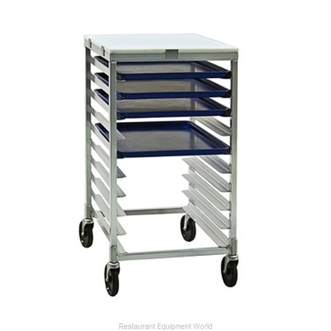 New Age 92096 Prep Cart Pan Rack w Work Top