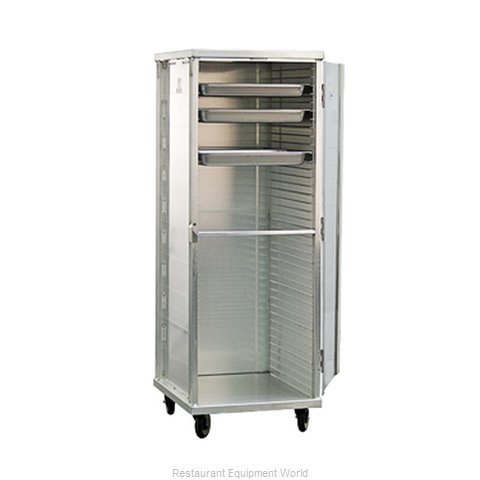 New Age 95141 Bun Pan Rack Cabinet Mobile Enclosed