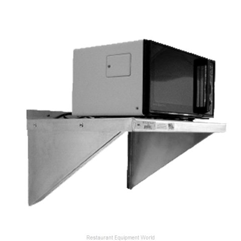 New Age 95634 Shelf Microwave (Magnified)
