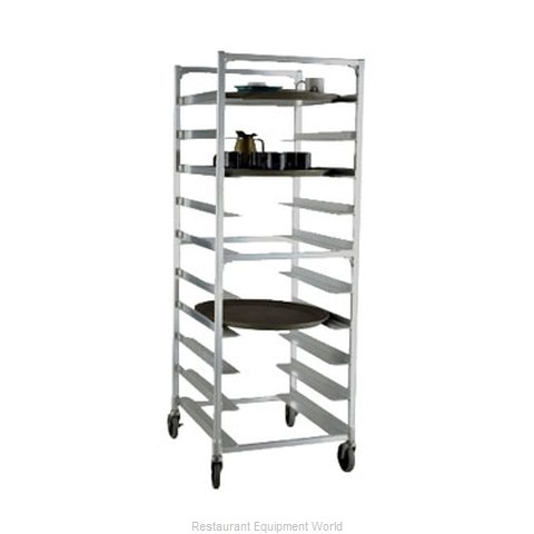 New Age 95681 Rack Mobile Oval Tray Storage