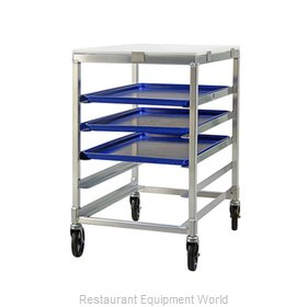 New Age 95958 Pan Rack with Work Top, Mobile