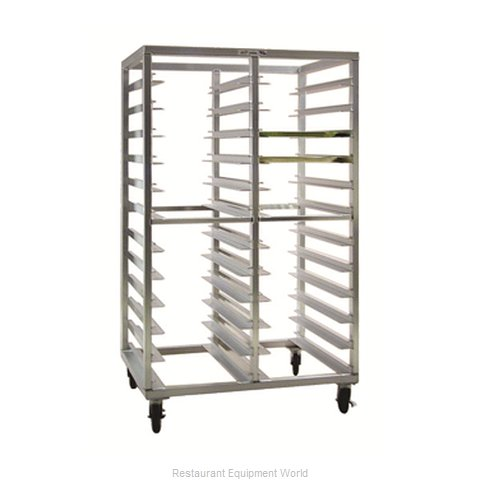 New Age 97715 Rack Mobile Tray Double Compartment