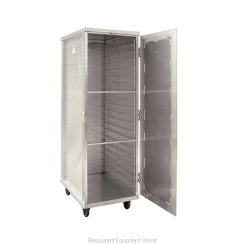 New Age 97718 Bun Pan Rack Cabinet Mobile Enclosed