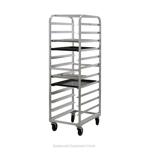 New Age 97743 Rack Mobile Tray Single Compartment