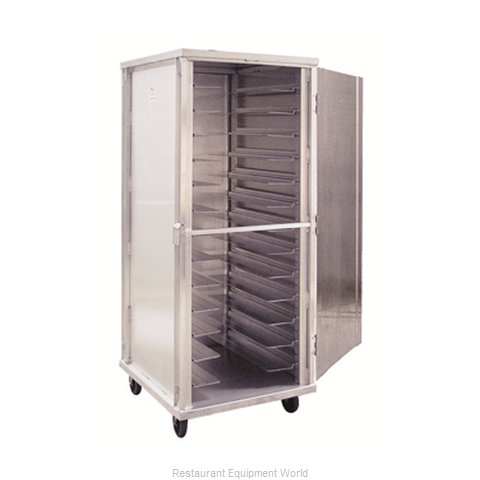New Age 97747 Bun Pan Rack Cabinet Mobile Enclosed
