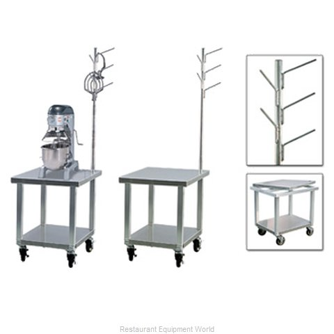 New Age 99738 Equipment Stand for Mixer Slicer