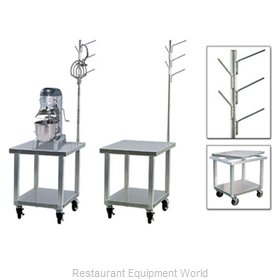 New Age 99738 Equipment Stand, for Mixer / Slicer