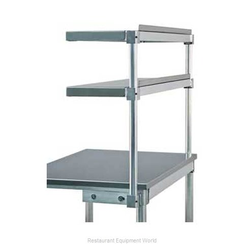 New Age 99823 Overshelf, Table-Mounted, Cantilever Type