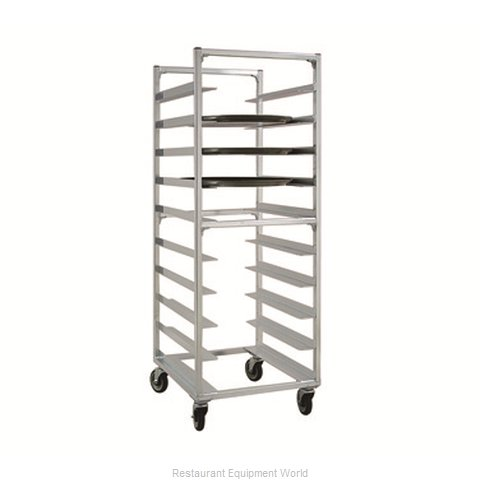 New Age NS893 Oval Tray Storage Rack, Mobile