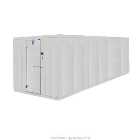 Nor-Lake 6X34X7-4 COMBO Walk In Combination Cooler/Freezer, Box Only
