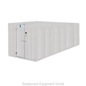 Nor-Lake 6X34X8-4 COMBO Walk In Combination Cooler Freezer Box Only