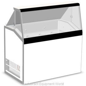 Nor-Lake HF100WWG/0L Display Case, Dipping Ice Cream