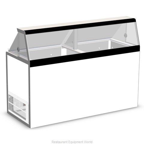 Nor-Lake HF160WWG/0 Display Case, Dipping Ice Cream