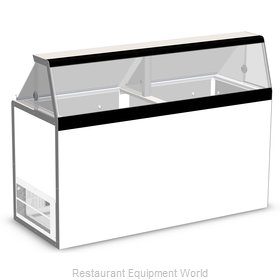 Nor-Lake HF160WWG/0 Display Case, Dipping Ice Cream