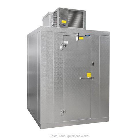 Nor-Lake KLB74810-C Walk In Cooler Modular Self-Contained