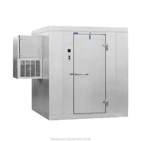 Nor-Lake KLB77610-W Walk In Cooler, Modular, Self-Contained