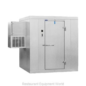 Nor-Lake KLB77810-W Walk In Cooler, Modular, Self-Contained