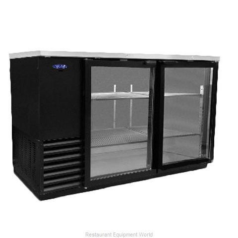 Nor-Lake NLBB59G Back Bar Cabinet, Refrigerated