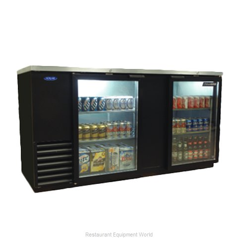 Nor-Lake NLBB69-G Back Bar Cabinet, Refrigerated