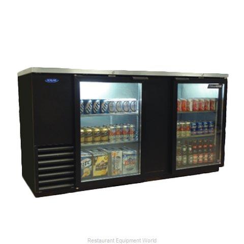 Nor-Lake NLBB69G Back Bar Cabinet, Refrigerated