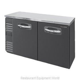 Nor-Lake NLBB72N Back Bar Cabinet, Refrigerated