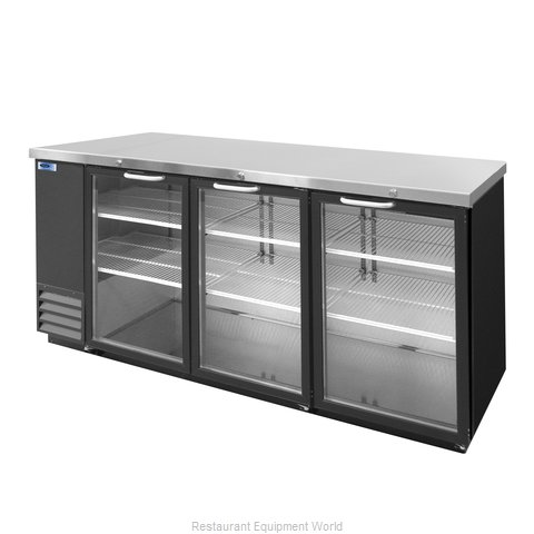 Nor-Lake NLBB79-G Backbar Cabinet Refrigerated