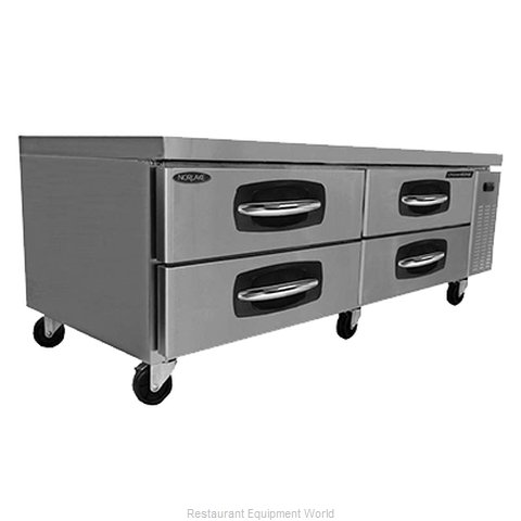 Nor-Lake NLCB72 Refrigerated Counter Griddle Stand
