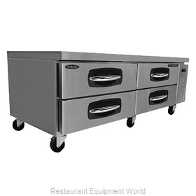 Nor-Lake NLCB72 Equipment Stand, Refrigerated Base