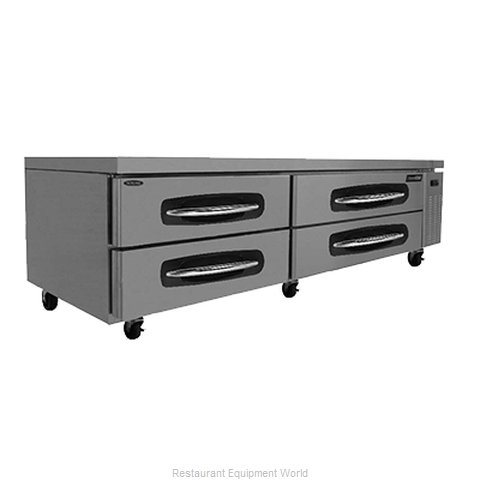 Nor-Lake NLCB84 Refrigerated Counter Griddle Stand