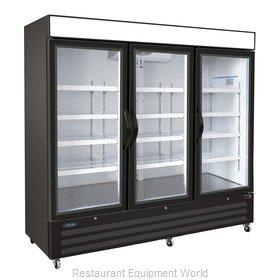 Nor-Lake NLFGM72HB Freezer, Merchandiser