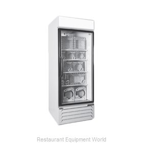 Nor-Lake NLGFP23-HG-W Freezer, Merchandiser