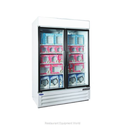 Nor-Lake NLGFP48-HG-W Freezer, Merchandiser