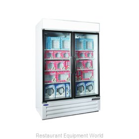 Nor-Lake NLGFP48-HG-W Freezer Merchandiser