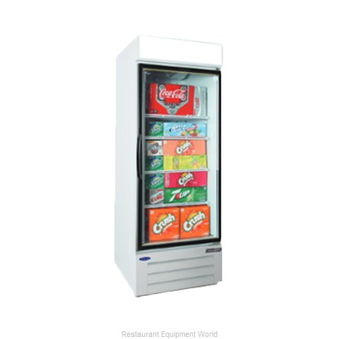 Nor-Lake NLGRP23-HG-W Refrigerator, Merchandiser (Magnified)