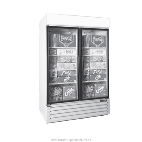 Nor-Lake NLGRP48-HG-W Refrigerator Merchandiser (Magnified)