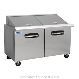 Nor-Lake NLSMP60-24 Refrigerated Counter, Mega Top Sandwich / Salad Unit