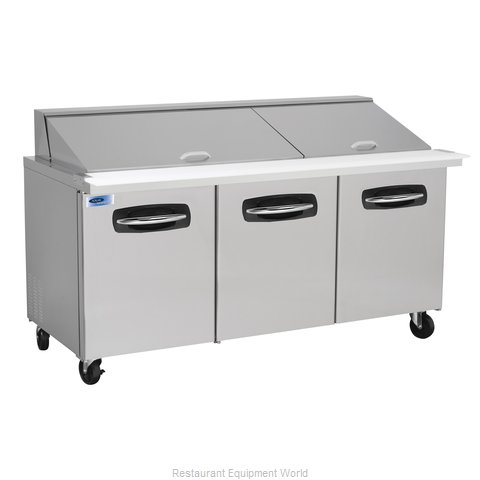 Nor-Lake NLSMP72-30 Refrigerated Counter, Mega Top Sandwich / Salad Unit