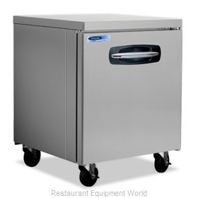 Nor-Lake NLUF27A-014 Freezer, Undercounter, Reach-In