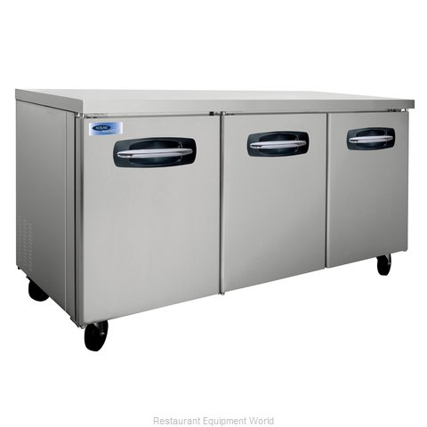 Nor-Lake NLUR72 Undercounter Refrigerator/Worktable (Magnified)