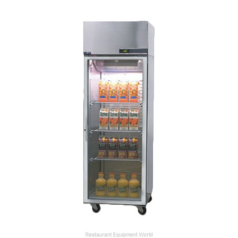 Nor-Lake PR242SSG/0X Pass-Thru Refrigerator 1 section