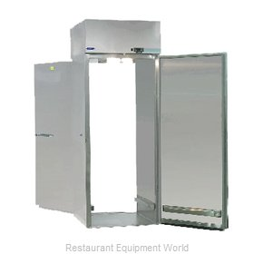Nor-Lake PWR332SSS/0X Roll-Thru Refrigerator 1 section