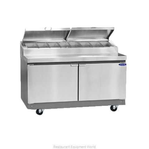 Nor-Lake RR192SMS/0 Pizza Prep Table Refrigerated