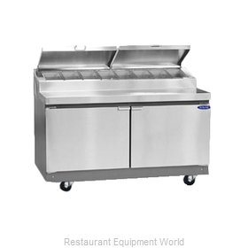 Nor-Lake RR192SMS/0 Refrigerated Counter, Pizza Prep Table