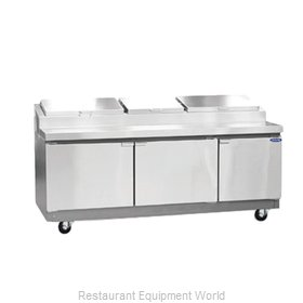Nor-Lake RR243SMS/0 Pizza Prep Table Refrigerated