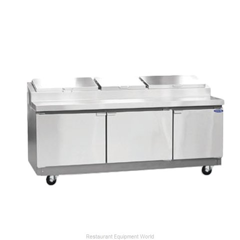 Nor-Lake RR283SMS/0 Refrigerated Counter, Pizza Prep Table