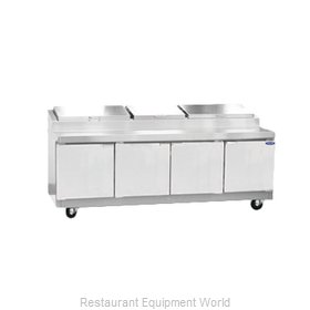Nor-Lake RR324SMS/0 Pizza Prep Table Refrigerated