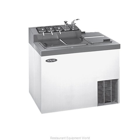 Nor-Lake ZF124SVS/0 Topping Dispenser, Refrigerated
